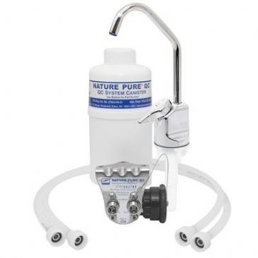 General Ecology NATURE PURE® RS2QC DRINKING WATER SYSTEM WITH FAUCET